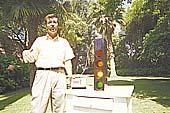 Solmáforo para medir rayos ultravioleta